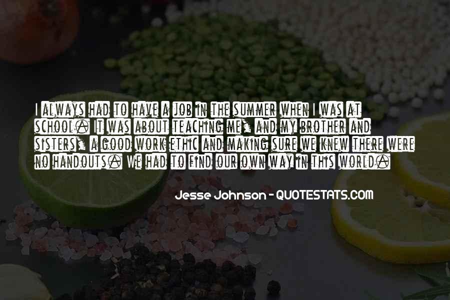Jesse Johnson Quotes #668755