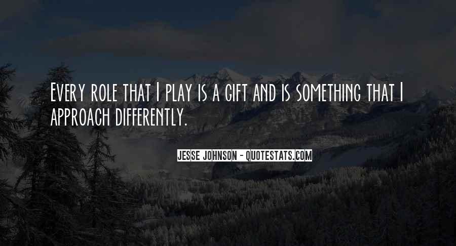 Jesse Johnson Quotes #762209
