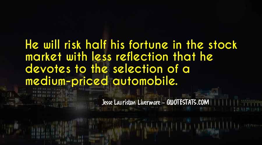 Jesse Lauriston Livermore Quotes #1330187