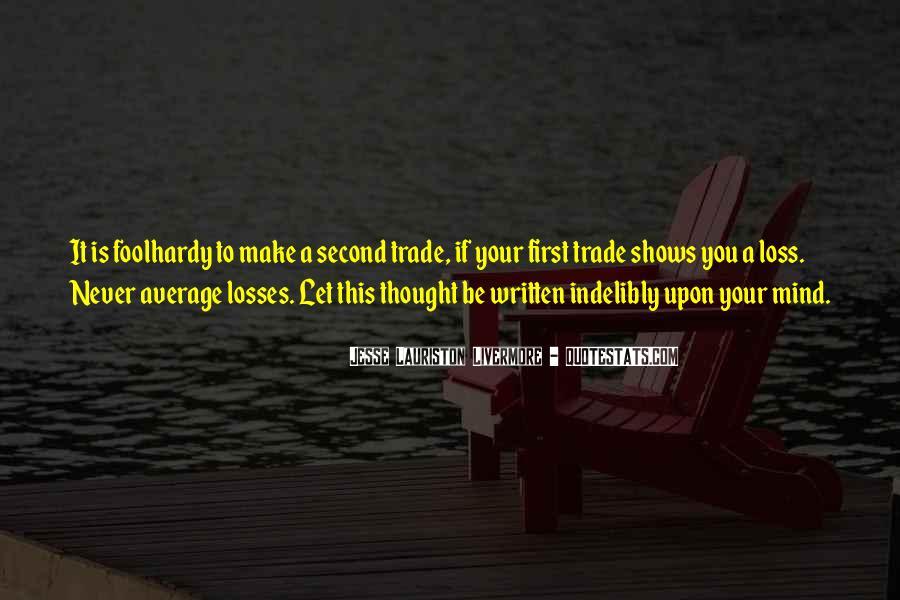 Jesse Lauriston Livermore Quotes #150541
