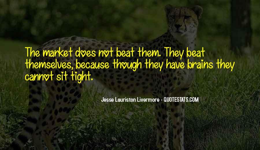 Jesse Lauriston Livermore Quotes #1626341