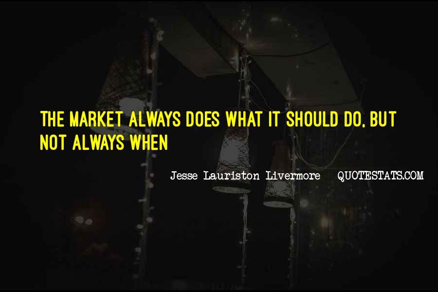 Jesse Lauriston Livermore Quotes #1780537