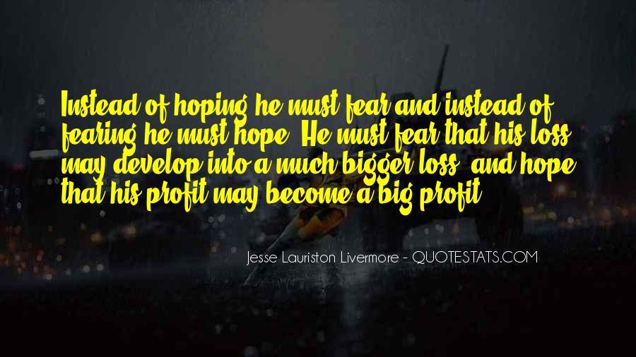 Jesse Lauriston Livermore Quotes #271735