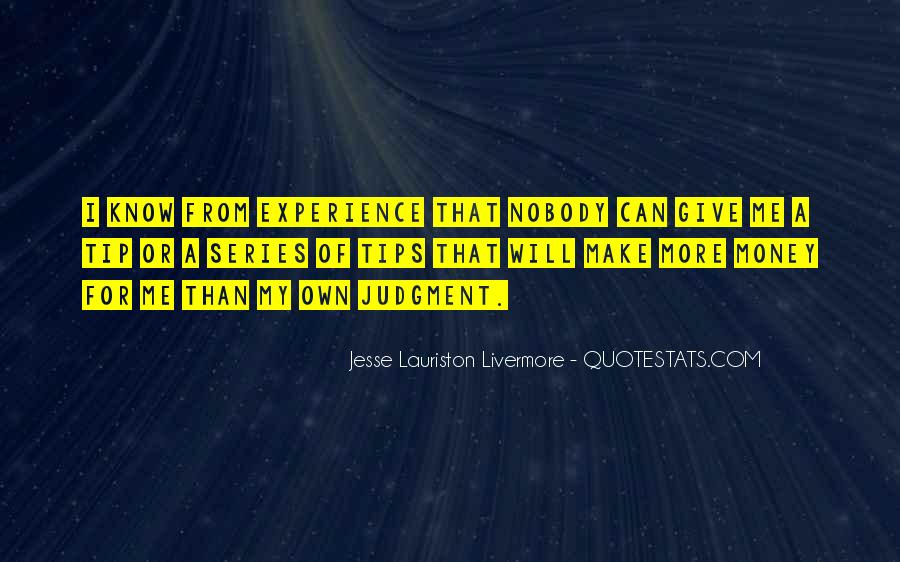Jesse Lauriston Livermore Quotes #337559
