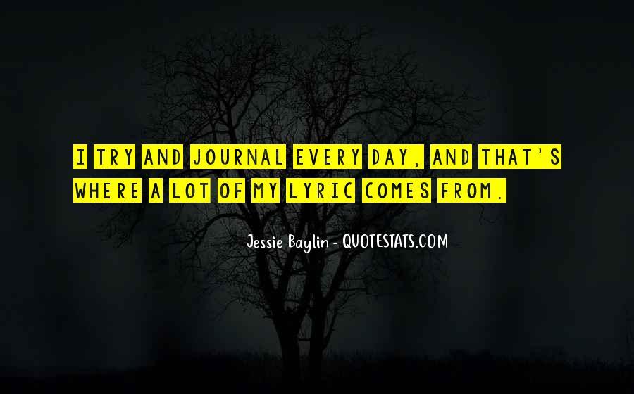Jessie Baylin Quotes #351766