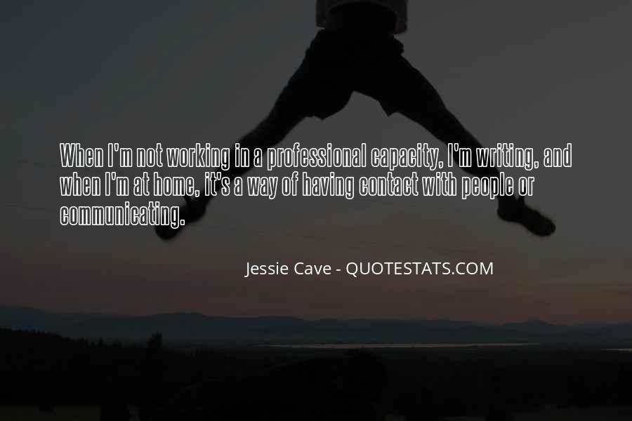 Jessie Cave Quotes #1724047