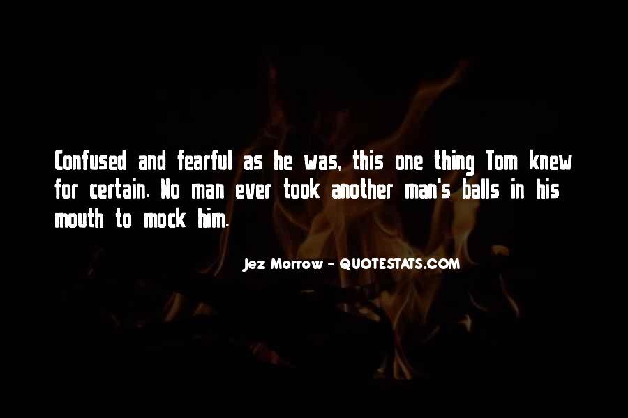 Jez Morrow Quotes #1602865