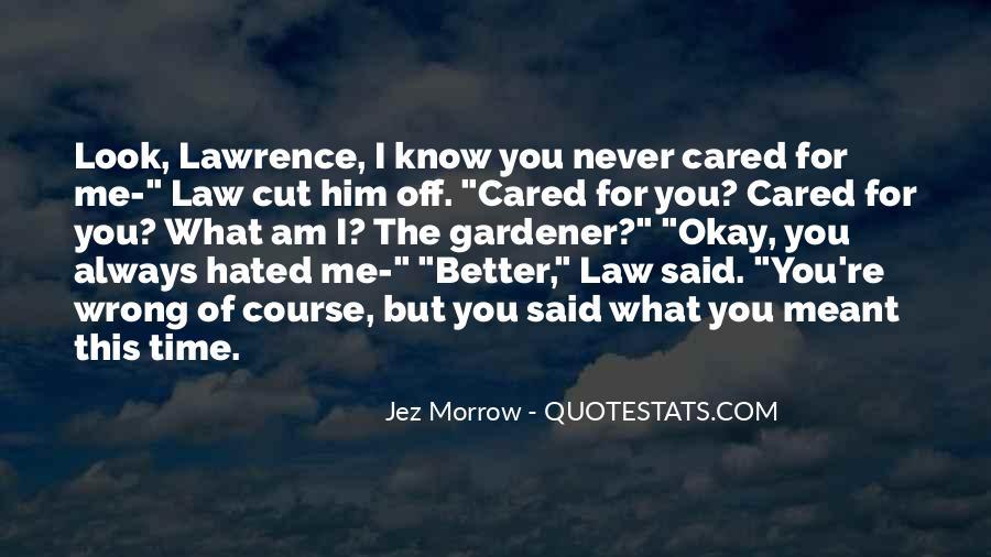 Jez Morrow Quotes #76617
