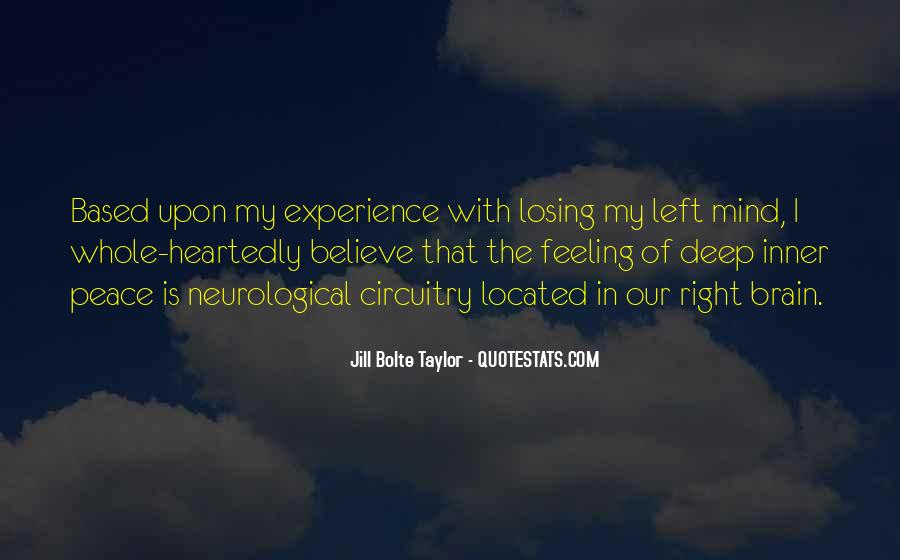 Jill Bolte Taylor Quotes #599168
