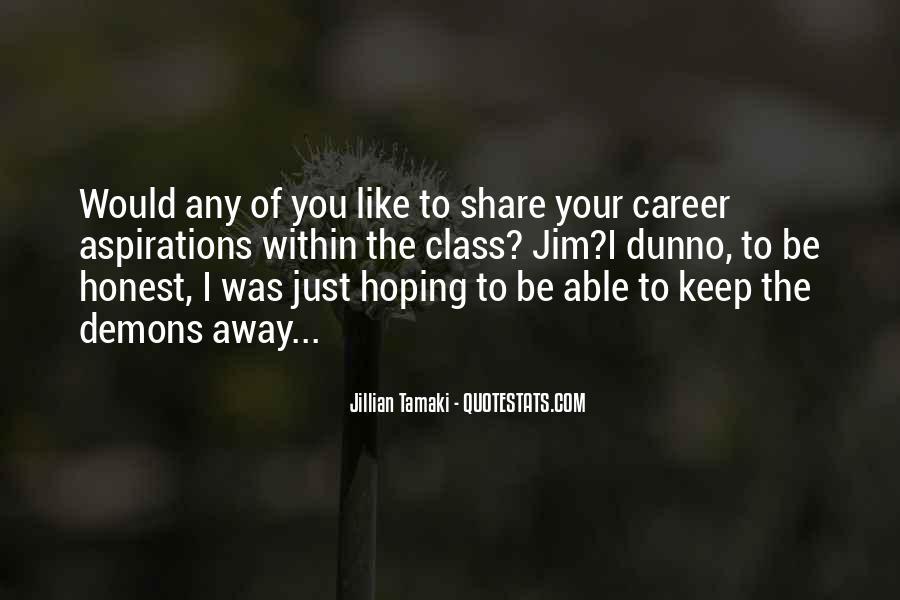 Jillian Tamaki Quotes #507708