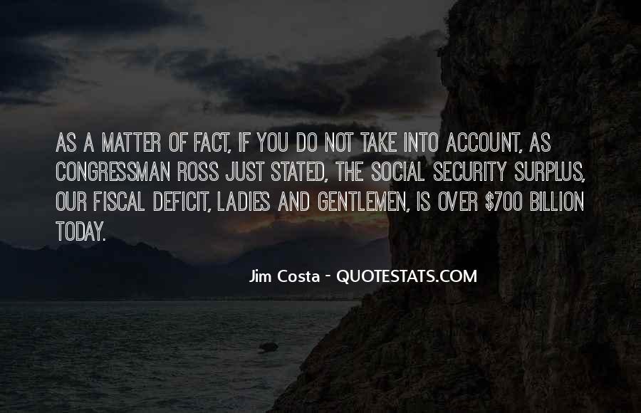 Jim Costa Quotes #791266