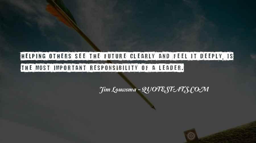 Jim Louwsma Quotes #130135
