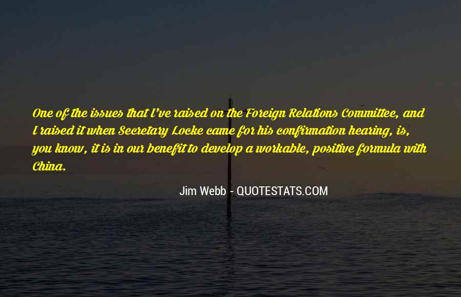 Jim Webb Quotes #1067185