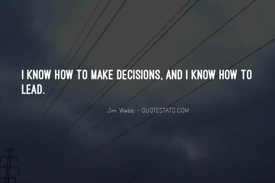 Jim Webb Quotes #1286146