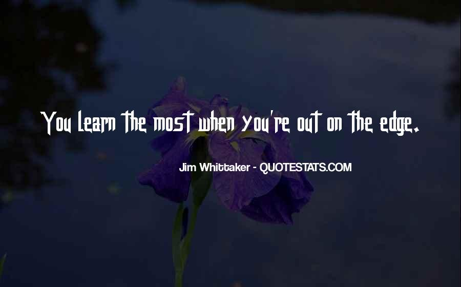 Jim Whittaker Quotes #434014