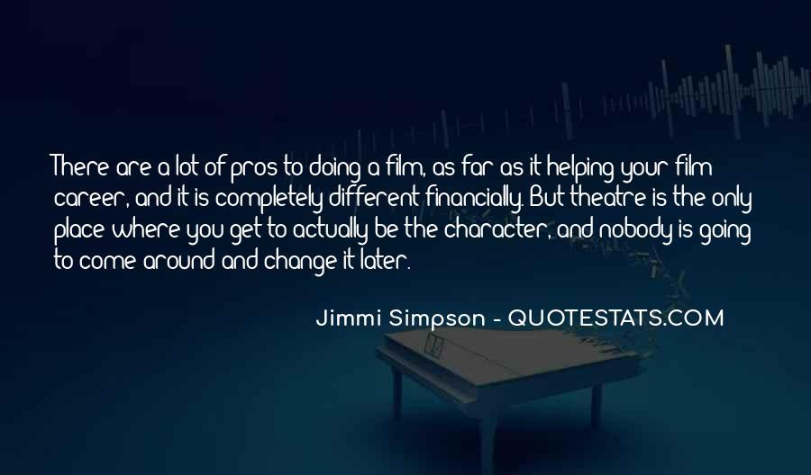 Jimmi Simpson Quotes #1163281