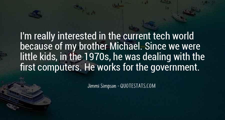 Jimmi Simpson Quotes #440661