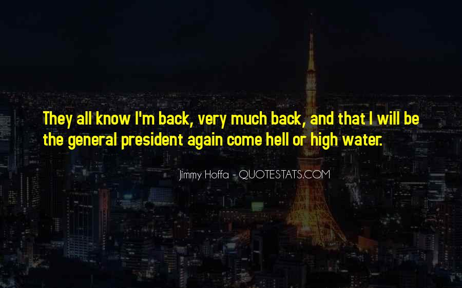 Jimmy Hoffa Quotes #1697781