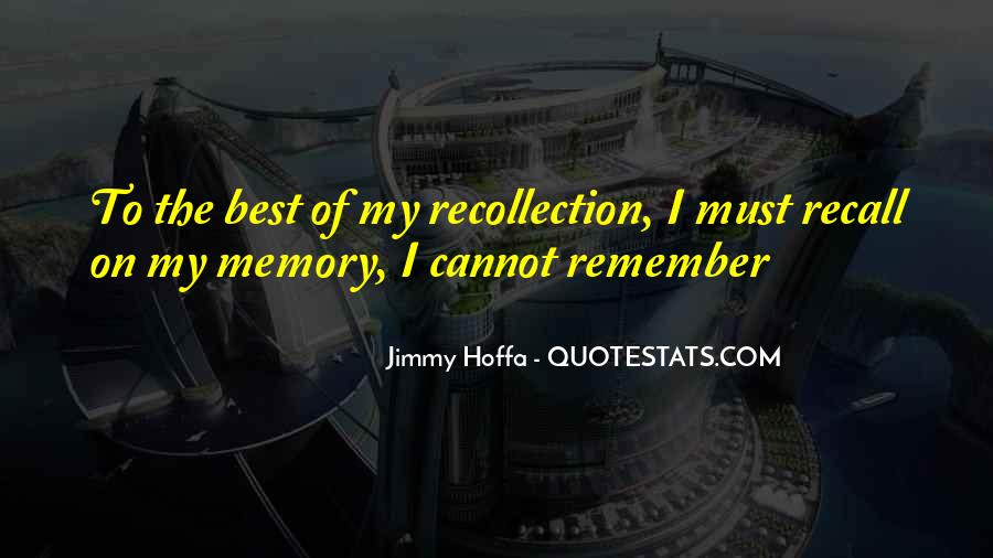 Jimmy Hoffa Quotes #418527