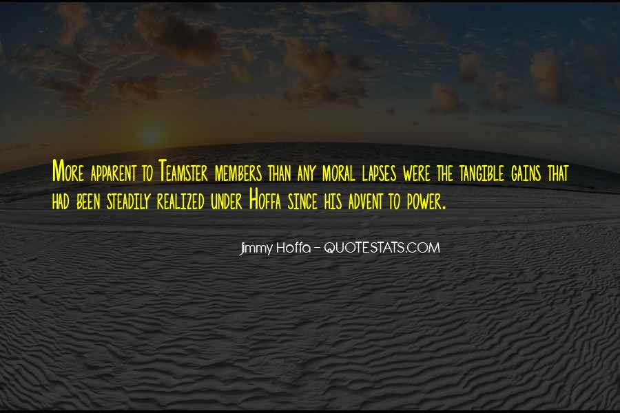 Jimmy Hoffa Quotes #745791