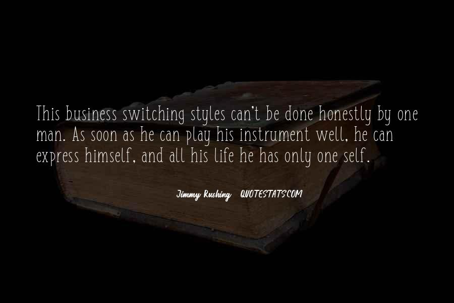 Jimmy Rushing Quotes #738795
