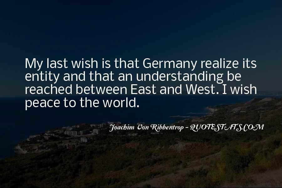 Joachim Von Ribbentrop Quotes #811062