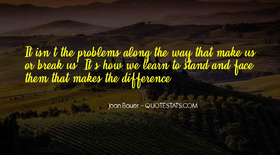 Joan Bauer Quotes #1127527