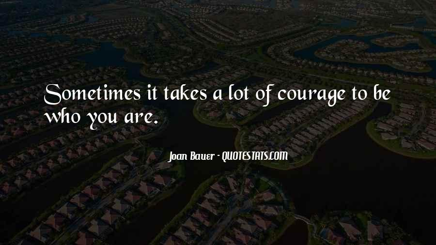 Joan Bauer Quotes #1352234