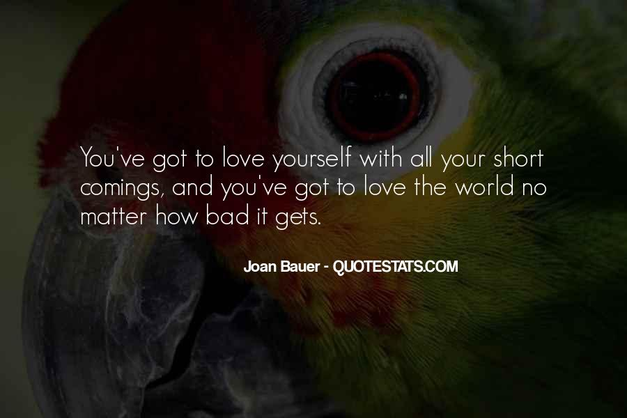 Joan Bauer Quotes #1799026