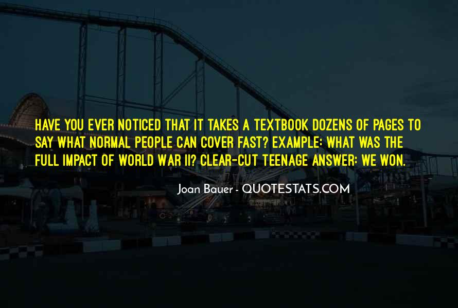 Joan Bauer Quotes #301159
