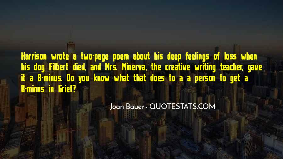 Joan Bauer Quotes #332775