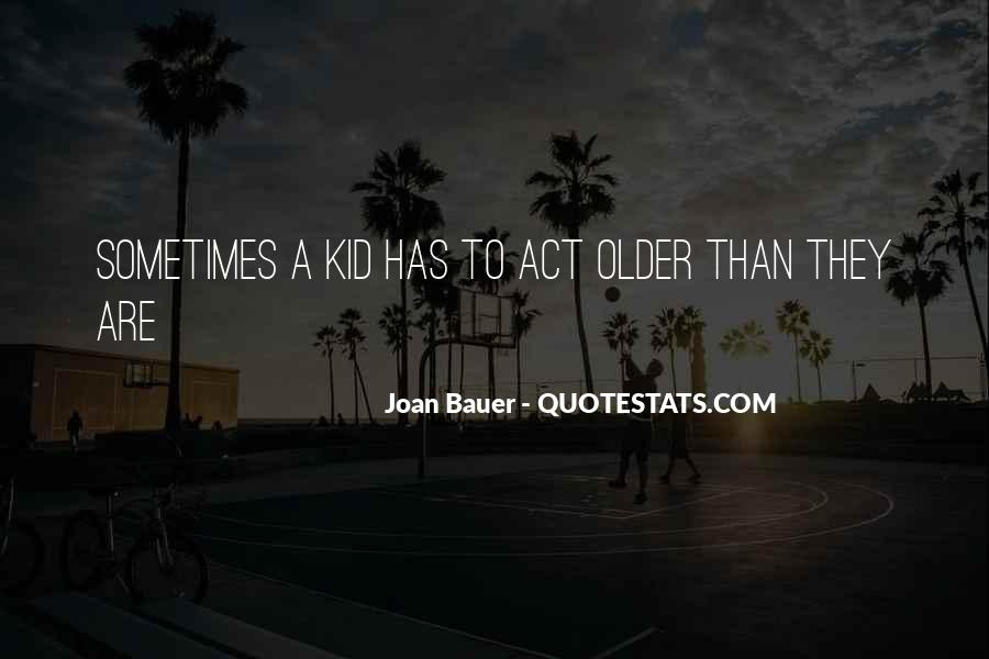 Joan Bauer Quotes #375022