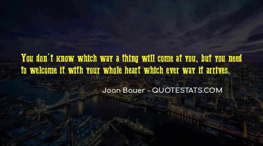 Joan Bauer Quotes #405183