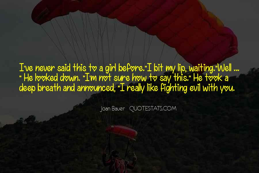 Joan Bauer Quotes #530269