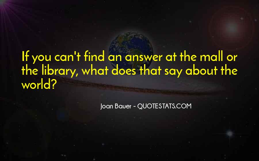 Joan Bauer Quotes #718361