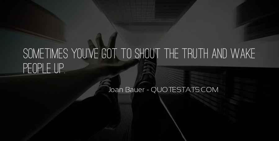 Joan Bauer Quotes #75852