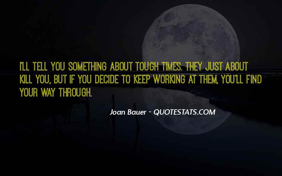 Joan Bauer Quotes #775135