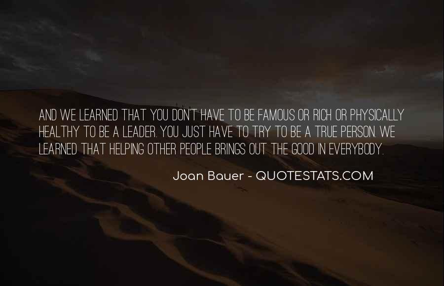 Joan Bauer Quotes #777660