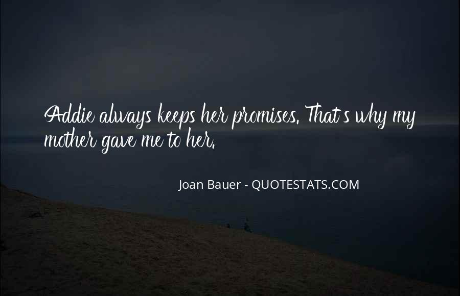 Joan Bauer Quotes #919422