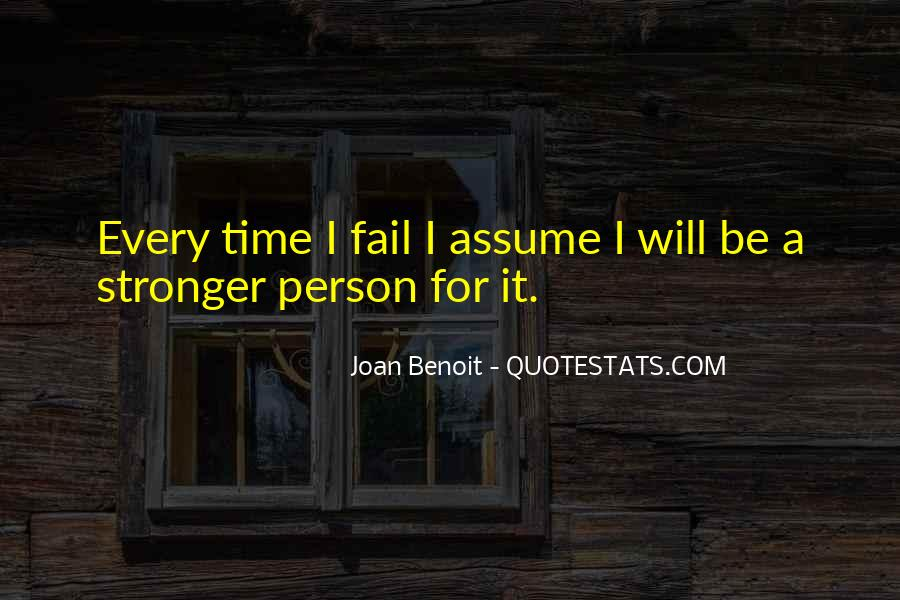 Joan Benoit Quotes #1265650