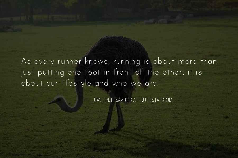 Joan Benoit Samuelson Quotes #144070
