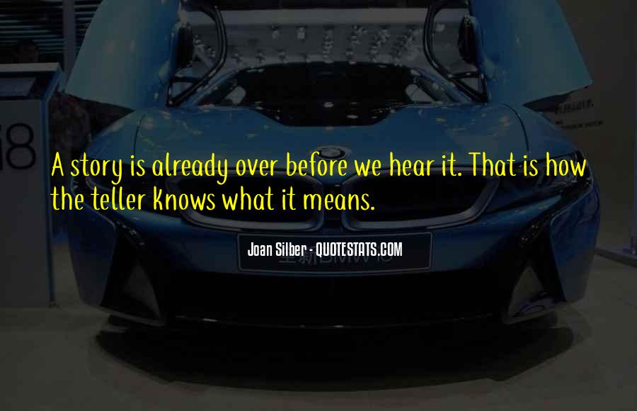 Joan Silber Quotes #1388413