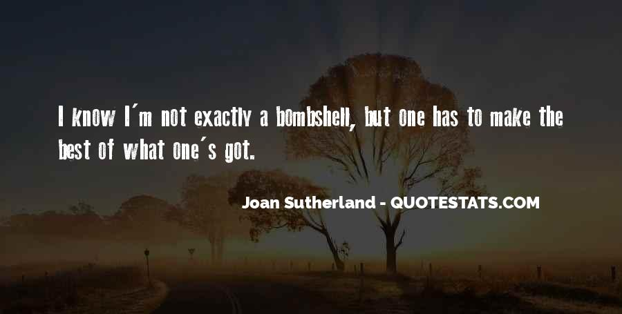 Joan Sutherland Quotes #110919
