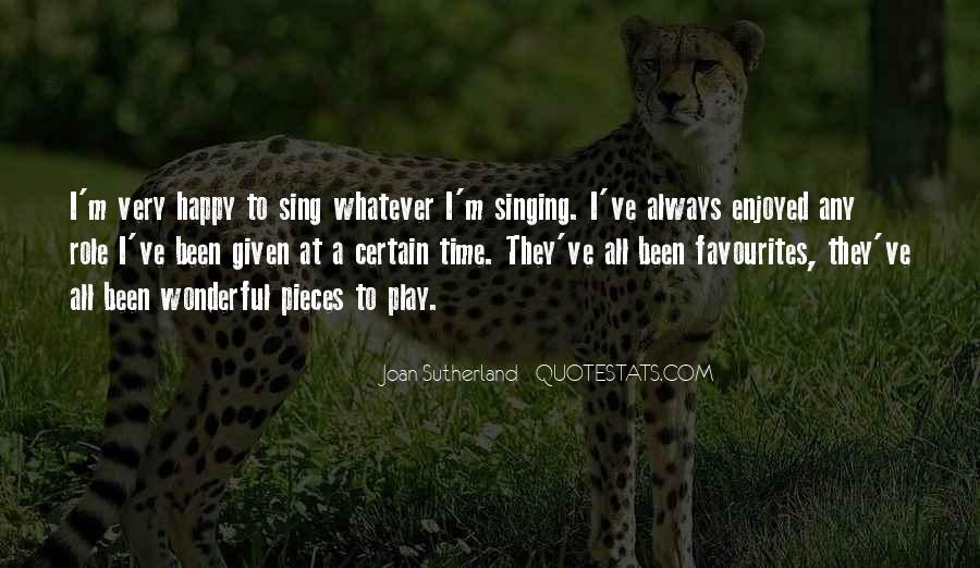 Joan Sutherland Quotes #113963