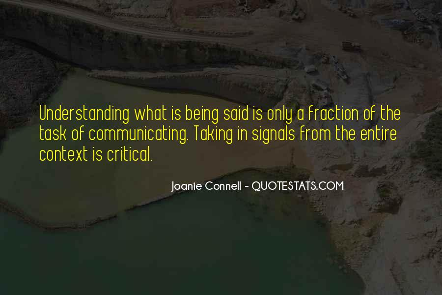 Joanie Connell Quotes #1510005