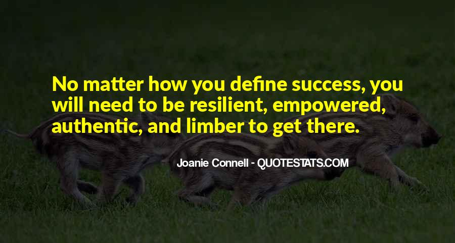 Joanie Connell Quotes #452471