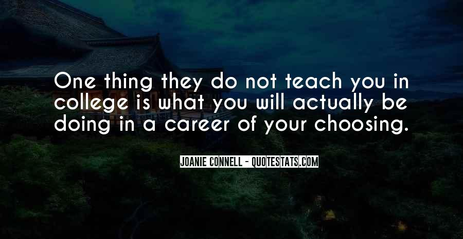 Joanie Connell Quotes #853816