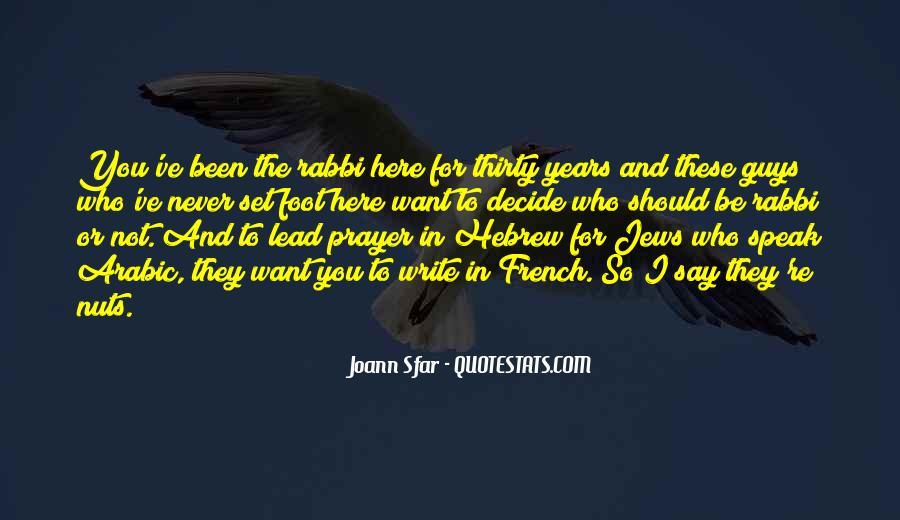 Joann Sfar Quotes #1609101