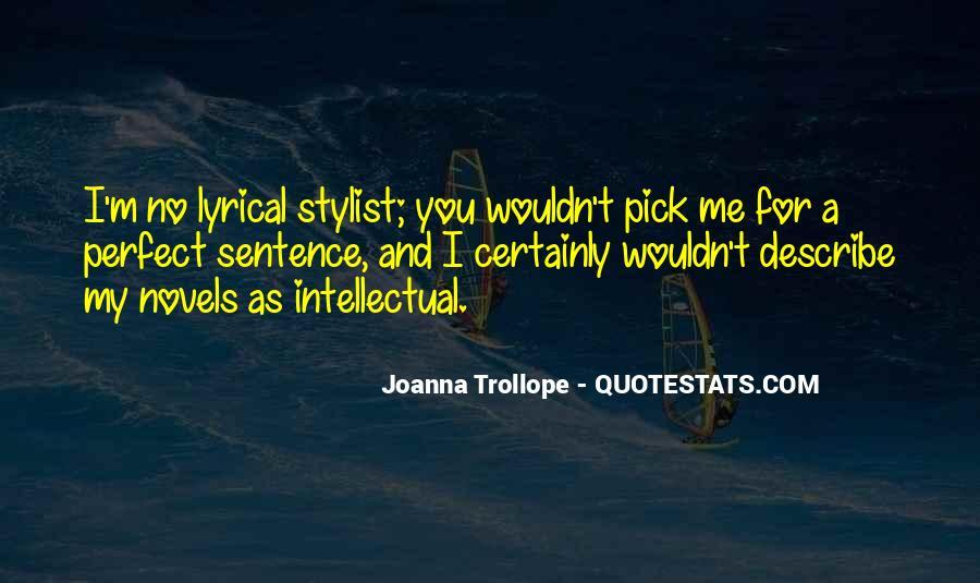 Joanna Trollope Quotes #546931