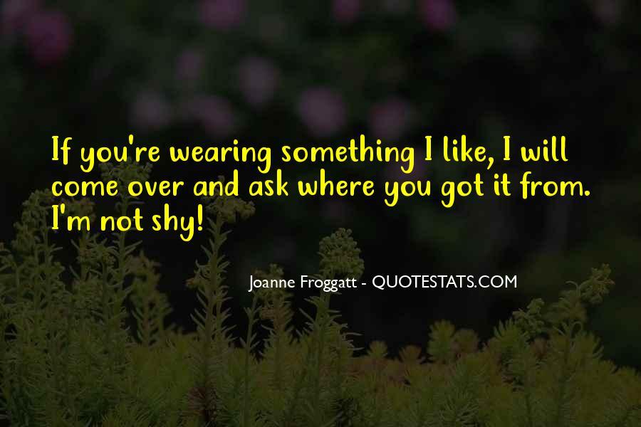 Joanne Froggatt Quotes #1143137